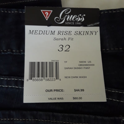 New Guess Jeans for Women (Size: 32)