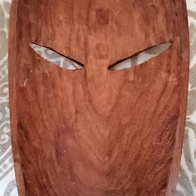 Wooden Mask from Indonesia