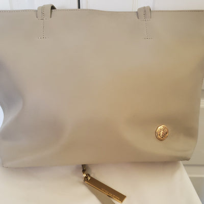 Vince Camuto 100% Genuine Leather Tan Tote