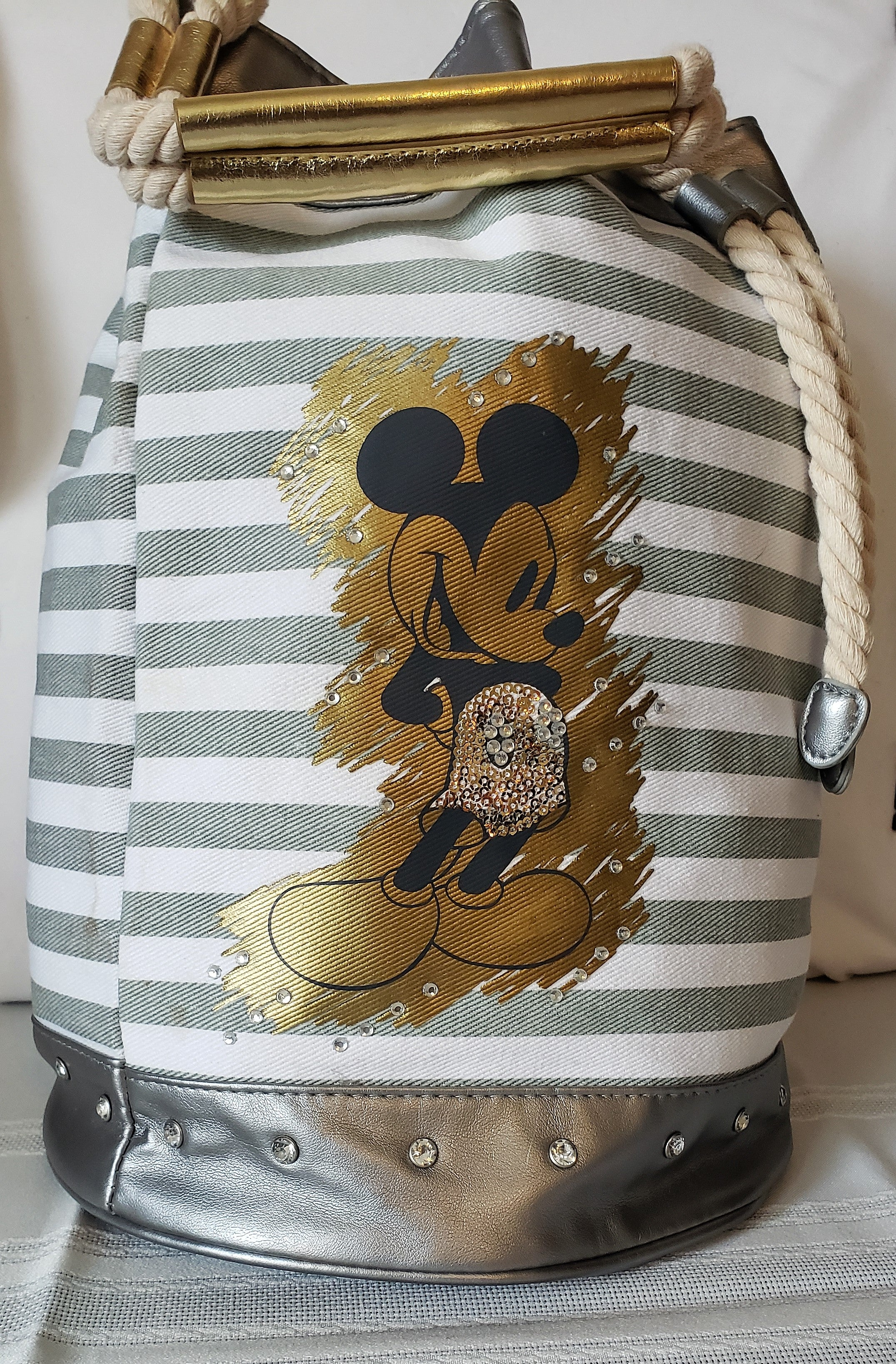 Mickey Mouse Embellish Bucket Tote