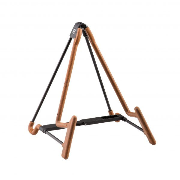 K&M French Horn/Guitar Stand - Heli 2 Black