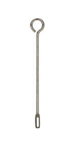METAL TRUMPET CLEANING ROD - 8.5""