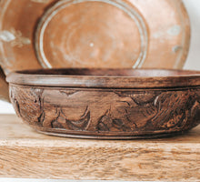Load image into Gallery viewer, Vintage Woodcarved Bowl