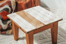 Load image into Gallery viewer, Vintage Handmade Wooden Stool