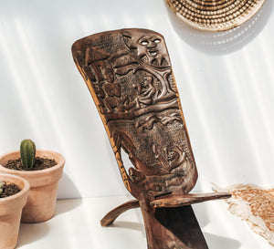 Handcarved Chiefs Chair