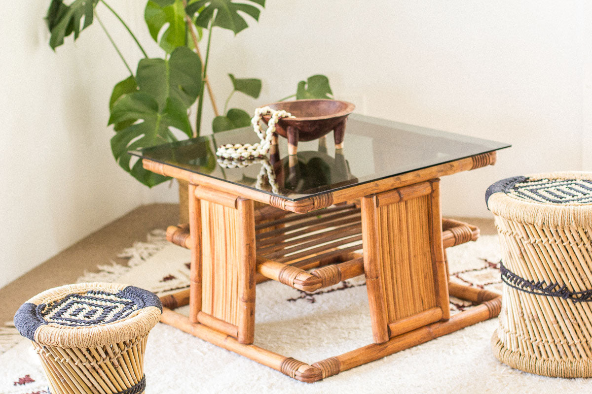 Picture of: Pacifica Cane Coffee Table Bohemian Soul