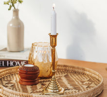 Load image into Gallery viewer, Vintage brass candleholder