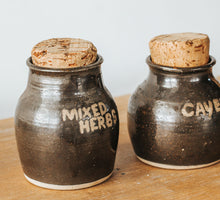 Load image into Gallery viewer, Vintage Pottery Spice Jars