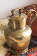 Load image into Gallery viewer, Vintage brass pitcher