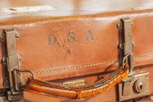 Load image into Gallery viewer, Vintage Leather Suitcase