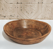 Load image into Gallery viewer, Vintage Handcarved Bowl