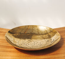 Load image into Gallery viewer, Vintage boho brass embossed bowl