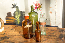 Load image into Gallery viewer, Large Vintage Glass Bottle