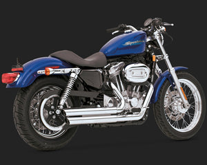 VANCE & HINES Q SERIES DOUBLE BARREL SPORTSTER