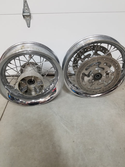 Harley touring spoked rims