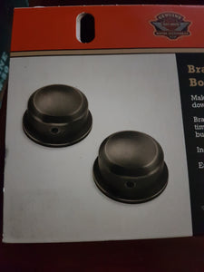 BRASS PIVOT BOLT COVERS