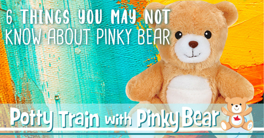 6 Things You May Not Know About Pinky Bear