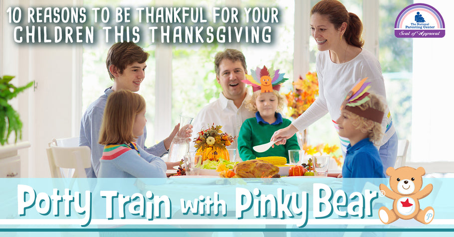 10 Reasons to Be Thankful for Your Children This Thanksgiving