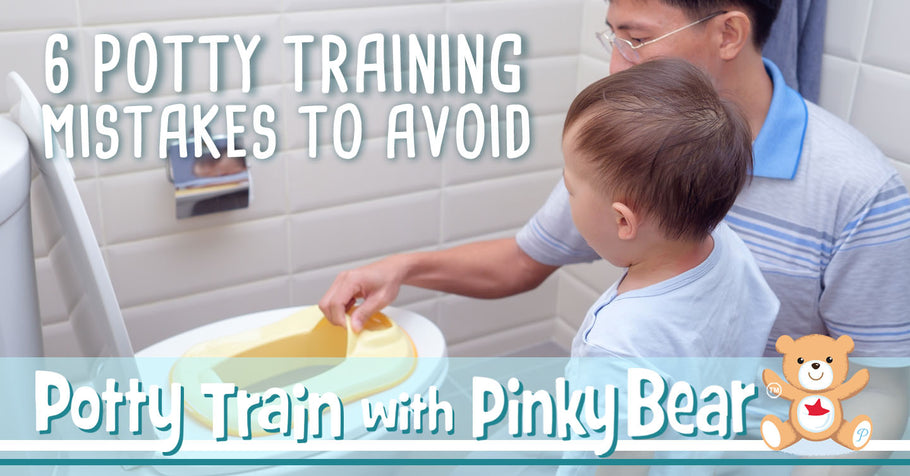 6 Potty Training Mistakes to Avoid
