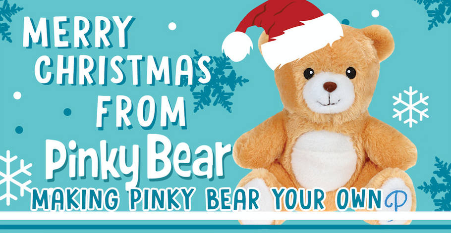 Merry Christmas from Pinky Bear: Making Pinky Bear Your Own