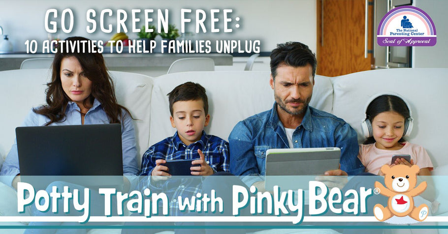 Go Screen Free: 10 Activities to Help Families Unplug