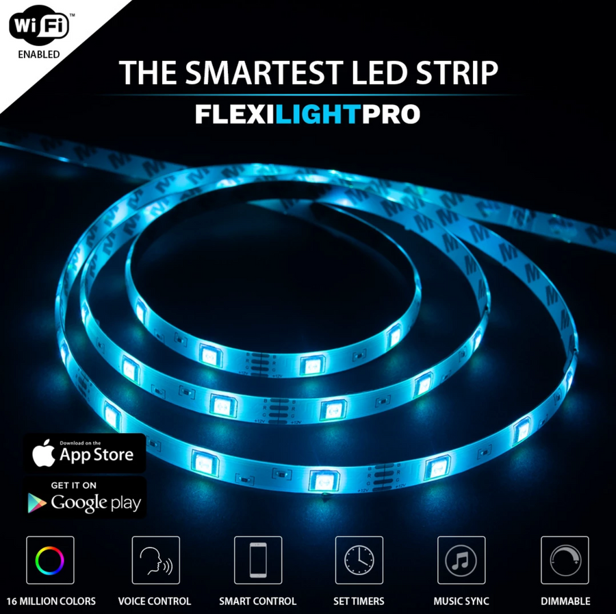 FLEXILIGHT PRO™ OFFICIAL RETAILER- SMART LED LIGHT STRIP