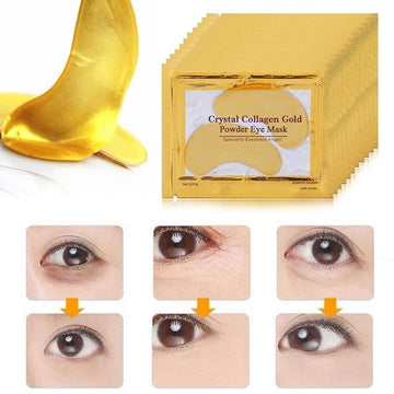 Gold Collagen Eye Mask (20 Pieces)-Be Healthy Be Loved