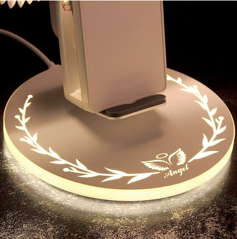 IlumenShop™ Official Retailer - Angel Wing Wireless Charger-Be Healthy Be Loved