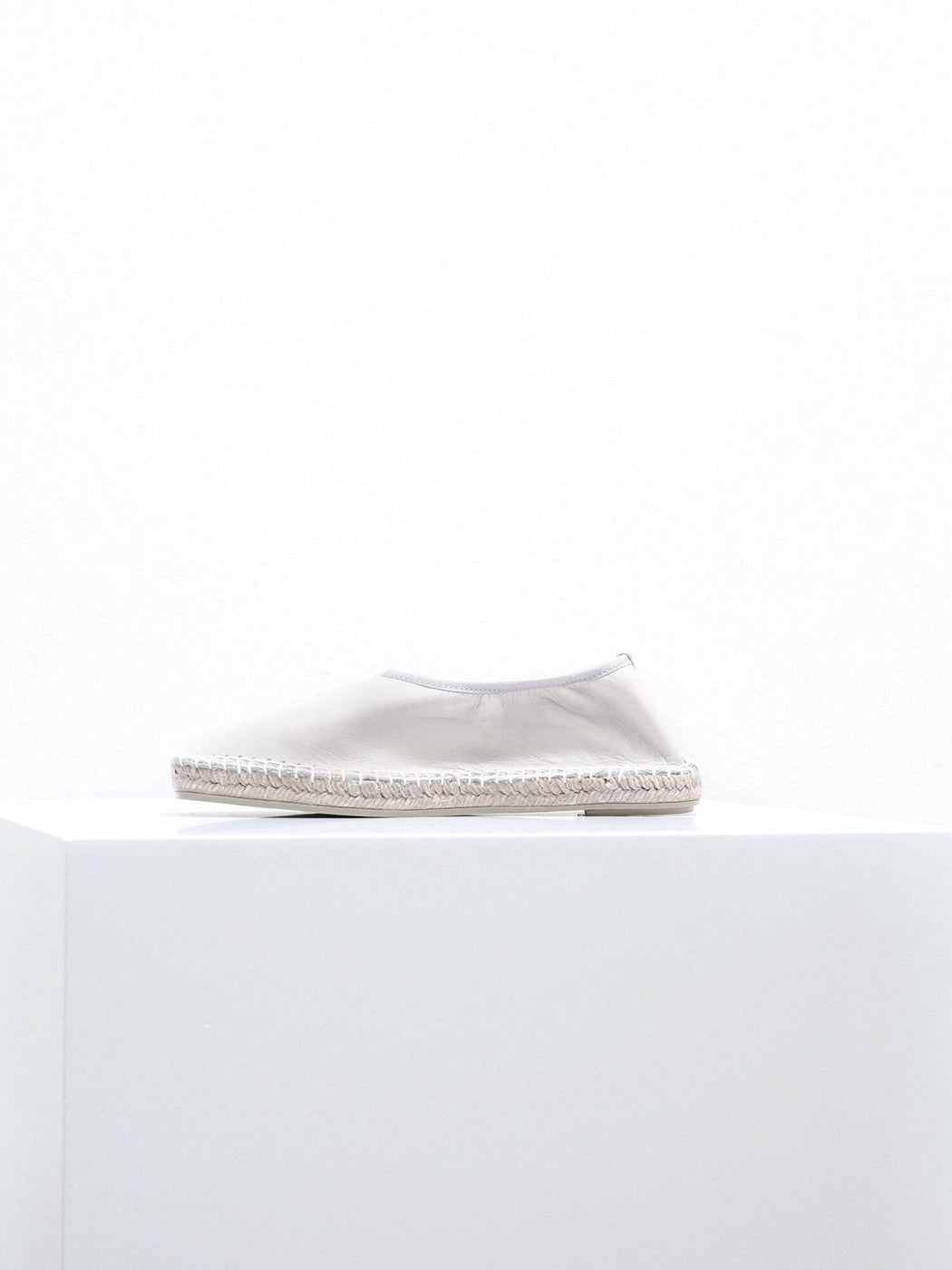 Edvard Pearl Leather Espadrilles