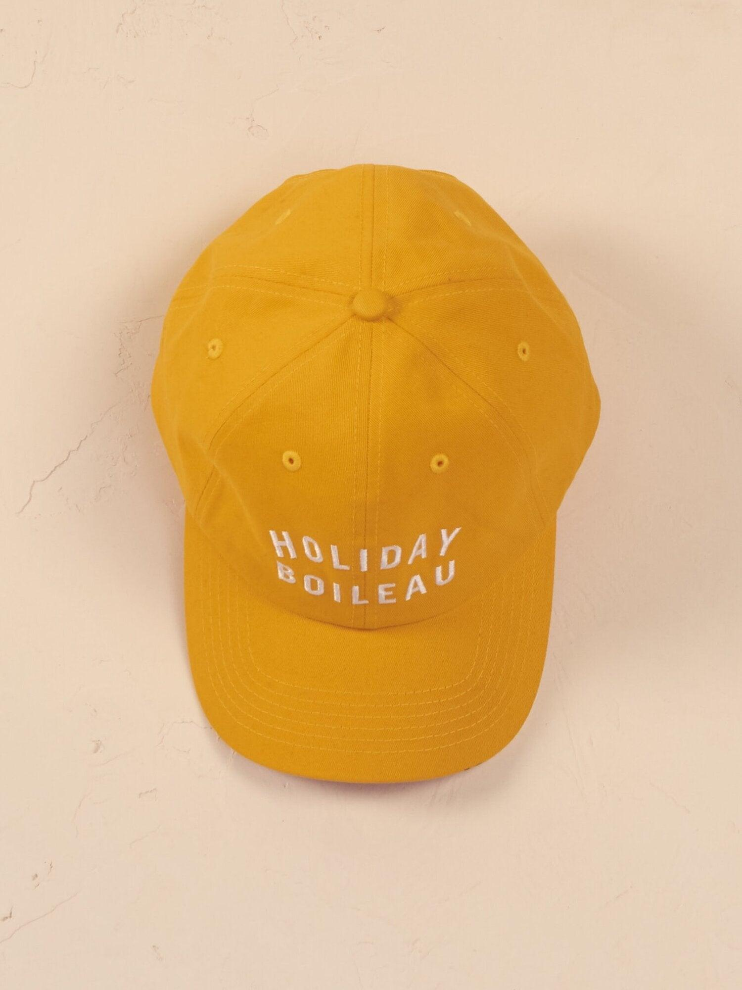 Holiday Yellow Cap
