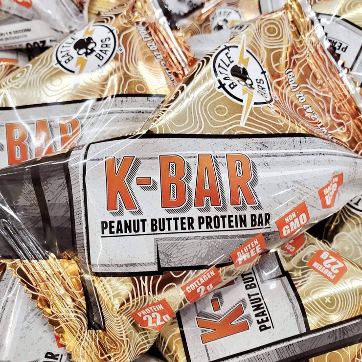 24 Count Chocolate & Peanut Butter Combo - Battle Bars