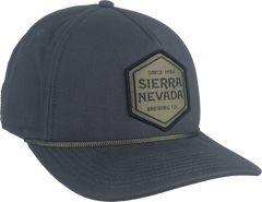 Hexagon Patch Hat Grey