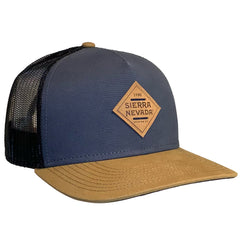 Diamond Patch Gray Trucker Hat