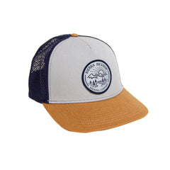 Circle Patch Trucker Hat