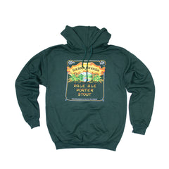 Pale-Porter-Stout Hooded Sweatshirt Forest Green