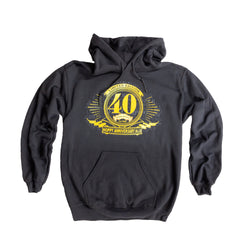 40th Anniversary Hooded Sweatshirt