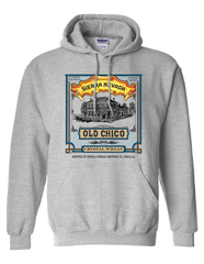 Old Chico Crystal Wheat Hooded Sweatshirt