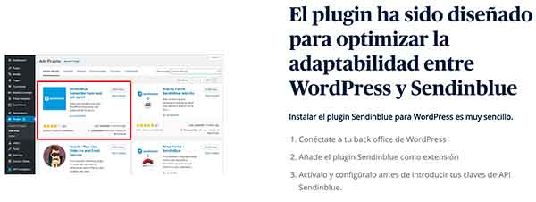 sendinblue wordpress