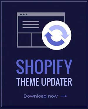shopify theme updater