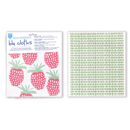 Strawberrie Blu Cloth Set 2