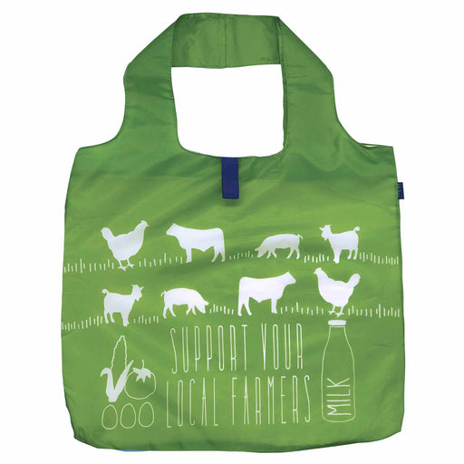 Local Farmers Blu Bag Reusable Shopping Bags