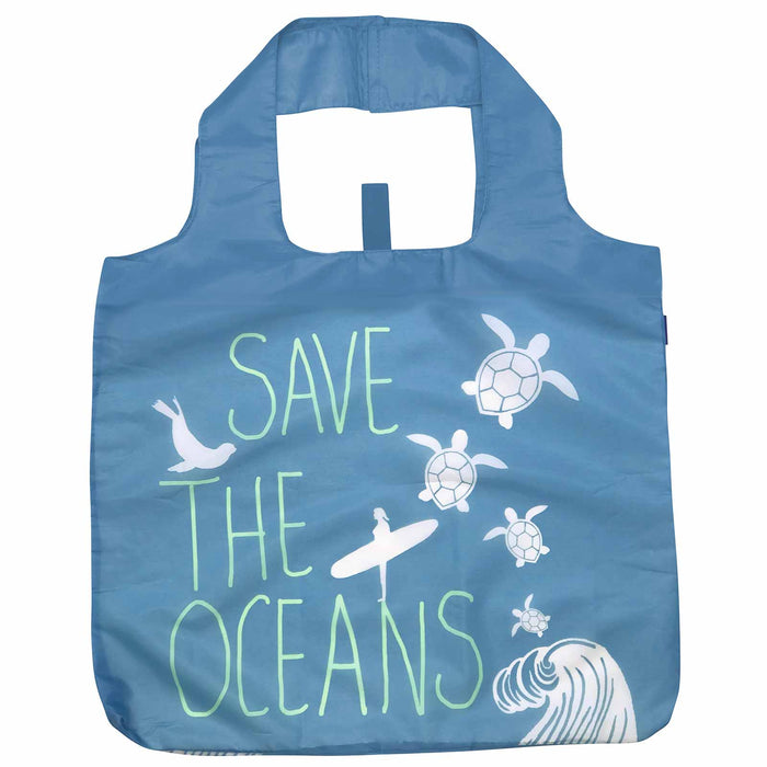 Save the Oceans Blu Bag Reusable Shopping Bags
