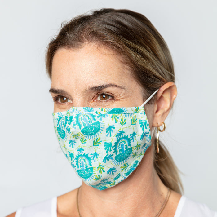 Iris Ocean Reusable Cotton Face Mask