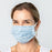 Penelope Blue Reusable Pleated Cotton Mask