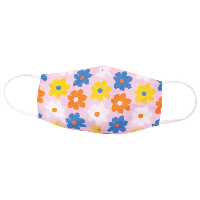 Petals Pink Reusable Cotton Kid's Mask
