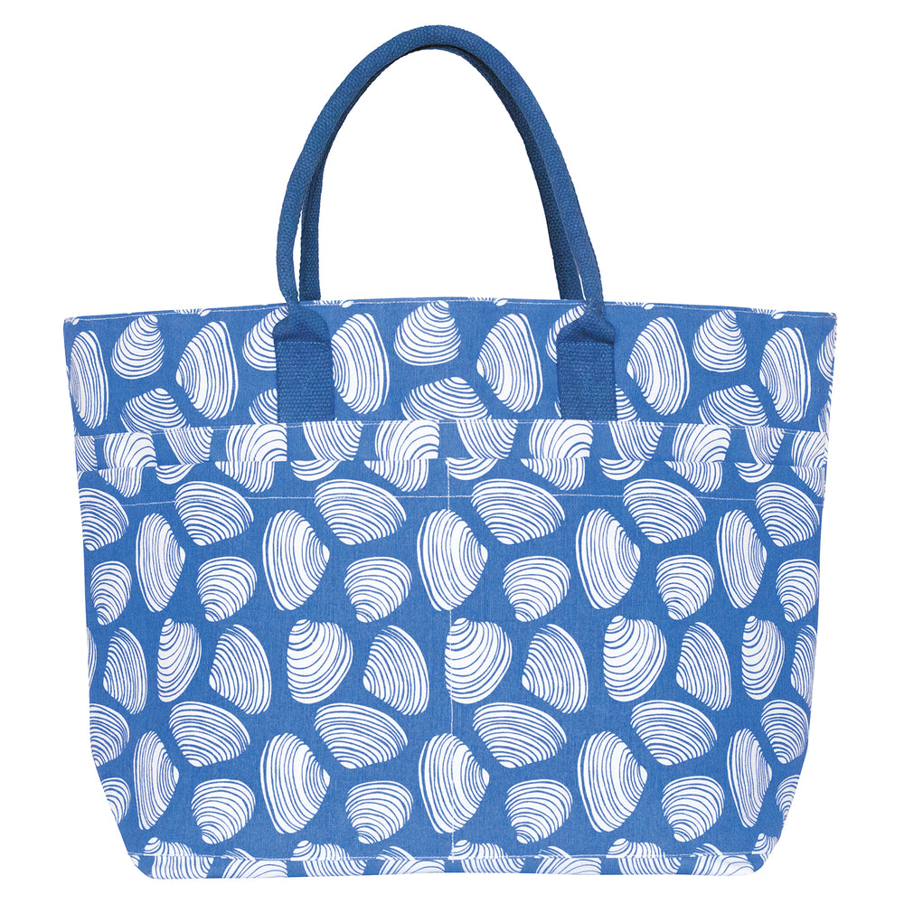 Clamshells Beach Tote (available: mid-March)