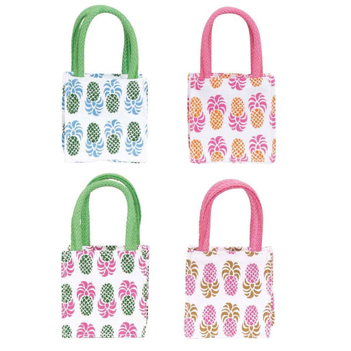 Aloha Pineapple Small Itsy Bitsy Gift Bags, Pack of 8 (Price is Per Bag) ITSYBITSYSMALL rfp-totes