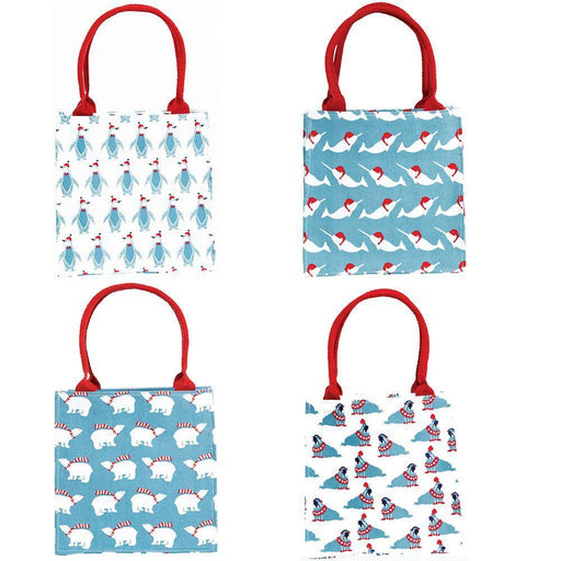 Arctic Animals Blue Itsy Bitsy Gift Bags, Pack Of 8 (Price is per Bag) ITSYBITSY rfp-totes