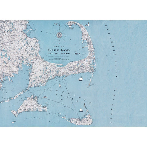 Cape Cod Art Placemats Set of Four HARDPLACEMAT rfp-home