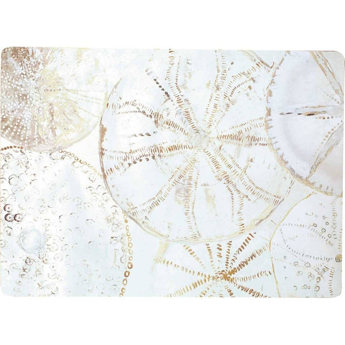Coastal Shells Placemat Set 4 HARDPLACEMAT rfp-home